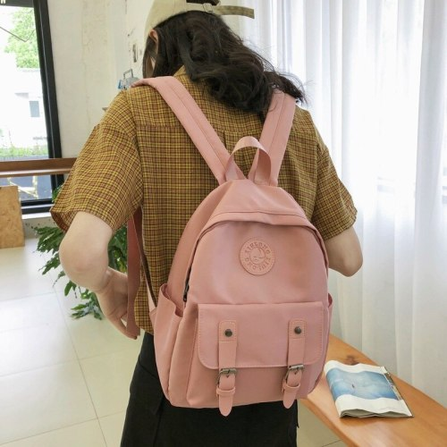 Fashion Waterproof Nylon Backpack Women School Bags For Teenage Girls Small Backpacks Female Travel Bag Ladies