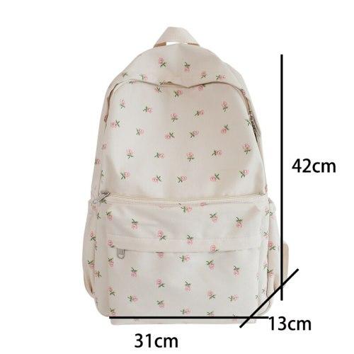 Women College Student Backpack Double Shoulder Large Capacity Travel Laptop Rucksack Book Schoolbag For Teenage Girl 2021 New