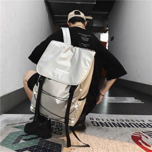 Backpack Couple Backpacks Reflective Stripe Fashion Travel Backpack Large-capacity Backpacks Mochila Para Hombre