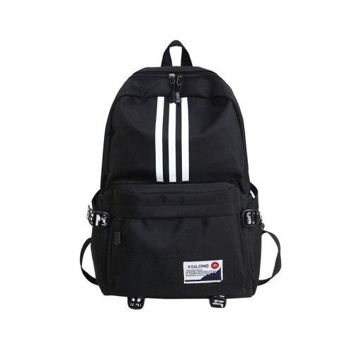 Fashion Trend Backpack Canvas Women Backpack Waterproof Shoulder Bag New School Bag for Teenager Girls School Backapck Female