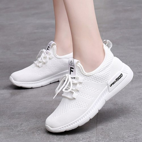 Women Shoes White Sneakers Women Super Light Gym  Breathable Basket Trainers Vulcanized Shoes Women Casual Shoes