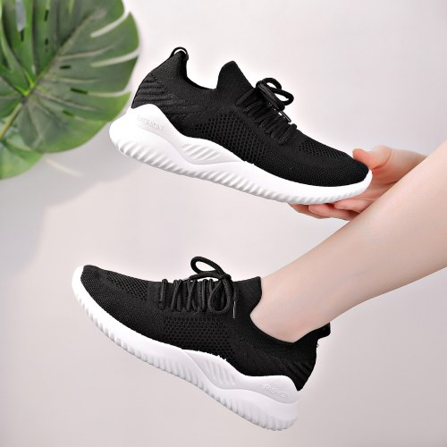 New Sneakers Women Fabric Outdoor Running Shoes Sport Walking Shoes Cushioning Platform Breathable Filas Shoe Zapatos