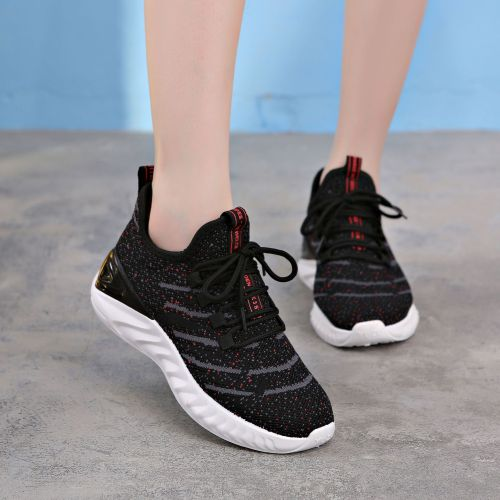 2021New Fashion Breathable shoes Women's Mesh sports shoes Lightweight running Lace up fashion shoes comfortable casual shoes