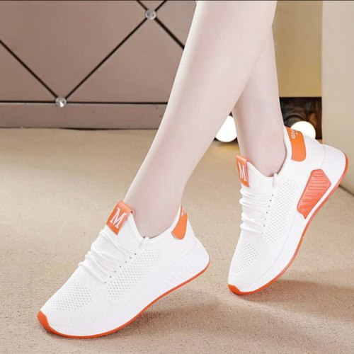 Breathable Comfortable Net Shoes Sports Shoes Flat Casual Shoes Women 2021 Spring And Autumn New Style