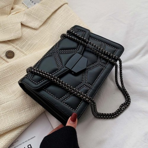 Hot Chain Small Crossbody Bags For Women 2021 Shoulder Messenger Travel Bag Lady Luxury Handbags Crossbody  Bag Luggage Fashion