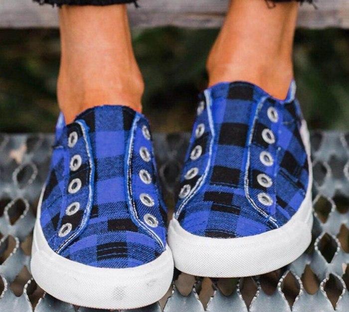 Women Flat Shoes New Arrival Fashion Denim Women Casual Shoes Tennis Canvas Shoes Woman Sneakers