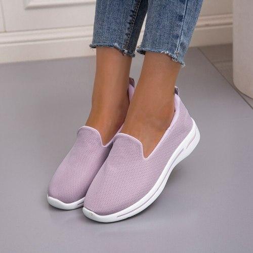 Light Sneakers Women Running Shoes Women Breathable Mesh Slip-On Shoes Woman Sports Shoes Zapatillas Mujer Sneakers Women