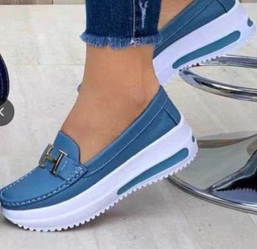 Women's Loafers 2021 Autumn New Thick-soled Lazy Shoes Outdoor Comfortable Casual Shoes Luxury Brand Designer Women's Shoes