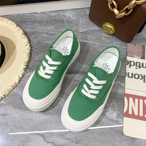 Canvas Shoe Women's Loafers for Women Woman Fashion Shoes Woman Summer 2021 Women's Leather Sneakers White Sports Shoes