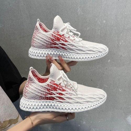 Breathable Women Casual Shoes Fashion Walking Mesh Flat Shoes Woman White Black Sneakers Women Tenis Feminino Female Sport Shoes