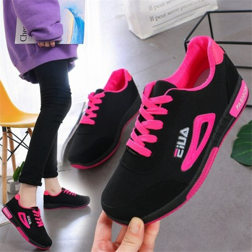 2021 Sneakers Women Fashion Lace-up Women's Sneakers Ladies Casual Vulcanize Sports Running Women Shoes Zapatillas Mujer Femme