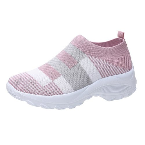 Summer Shoes Flats Zapatos Planos Casuales Plus Size Slip on Sneakers Women Tenis Feminino Casual Baskets Femme Tennis Casual