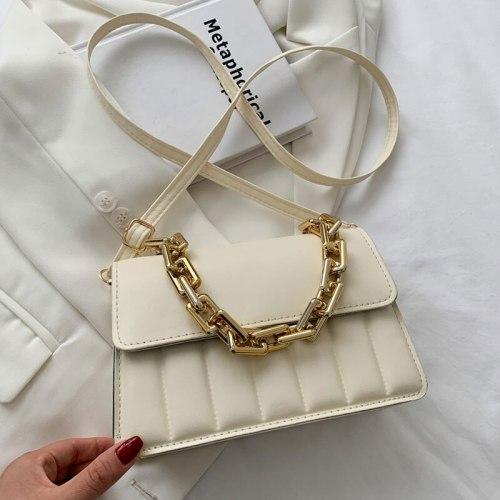 2021 Summer Retro Handbags For Women High Quality Casual Female Shoulder Bags Designer Simple Trend Crossbody Bag