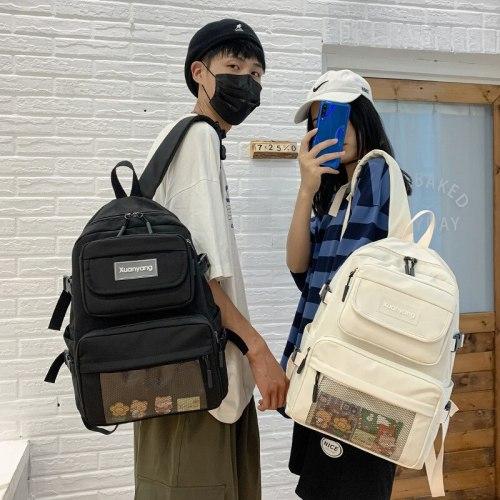 High Quality Women Student Schoolbag Travel Big Capacity Nylon Mochila Laptop Backpack Boy Girl Mochilas for Teenager Bagpack