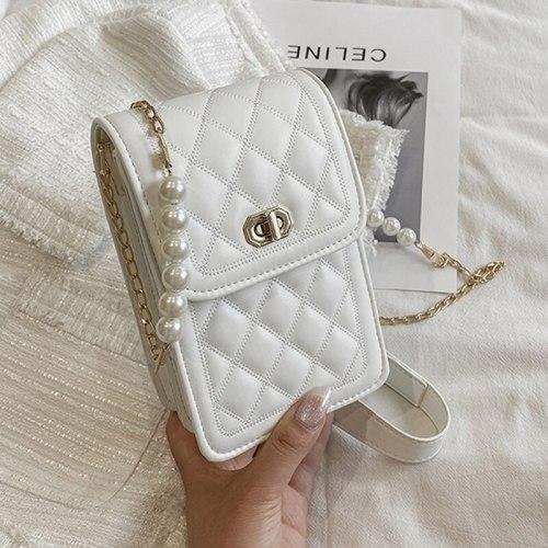 Small Crossbody Bags Women Mini PU Leather Shoulder Messenger Bag For Girls Yellow Bolsas Ladies Phone Purse Hasp Flap