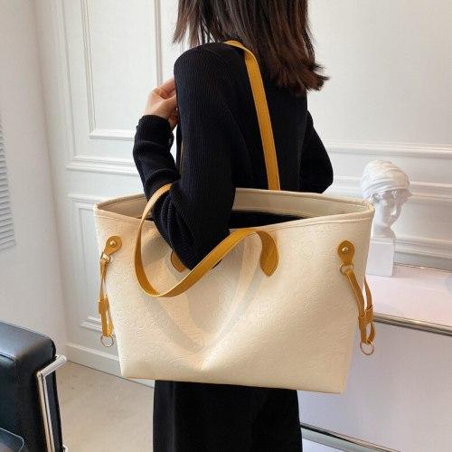 2021 New French retro small cross-body bag cross-body bag Korean version of casual lazy wind fashion atmosphere bag female bag
