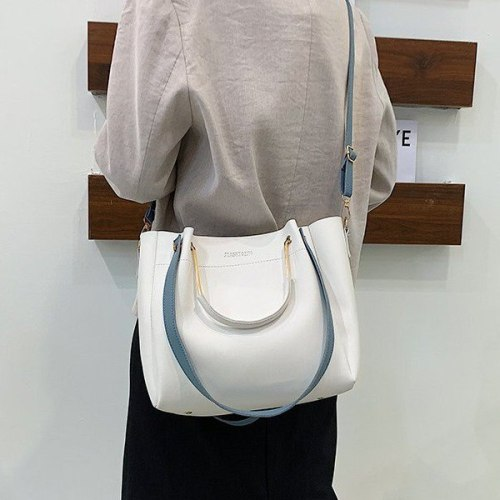Women's Shopper Bag PU Women Crossbody Bag Handbag Fashion Shoulder Bag High Quality