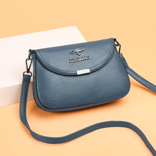Vintage Soft Leather Women Shoulder Bags Luxury Handbags Women Bags Designer Small Crossbody Bags for Women 2021 Messenger Bag