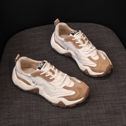 Sneakers Women Shoes Sport Ladies Trainer 2021 New Fashion Casual Thick Bottom Breathable Platform Sneakers Women Basket