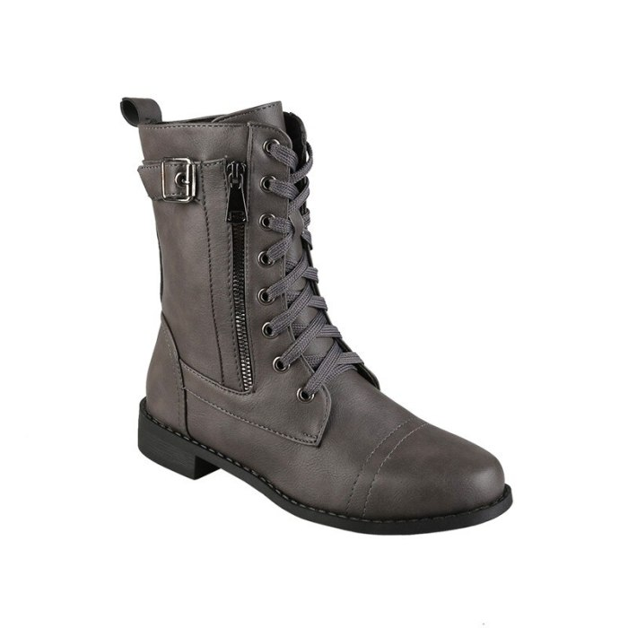 Women Boots New Unisex Leather Boots Autumn Winter Couple Boots Martens Boots Warm Plsuh Men Snow Boots Casual Zapatos Mujer