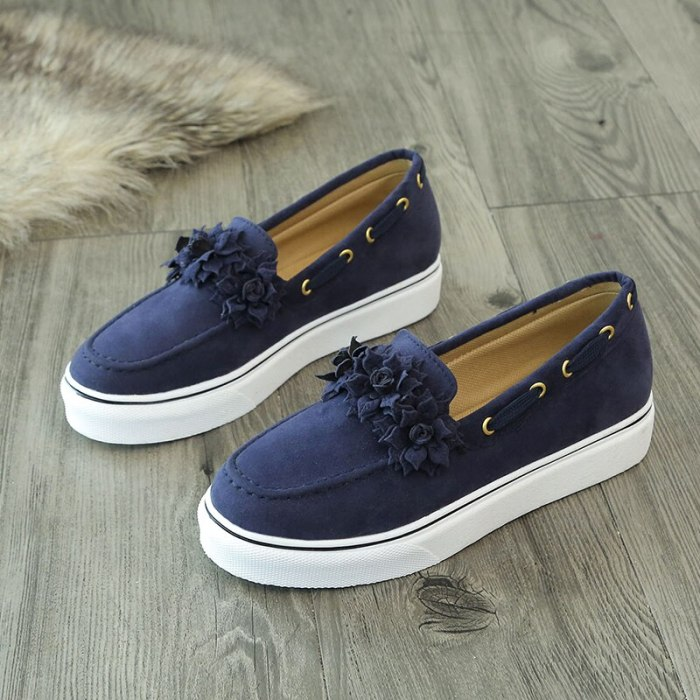 2021Casual Sneakers Women's  Flat Platform Shoes Women Creepers Women's Flats Canvas Shoes Rubbers Shallow Trainers