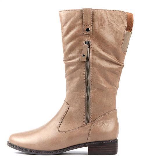 Mid Calf Boots Women Vintage Leather Square Heel Zipper Women Boot Round Toe Winter Wide Calf Cowboy Botas Plus Size Ladies Shoe