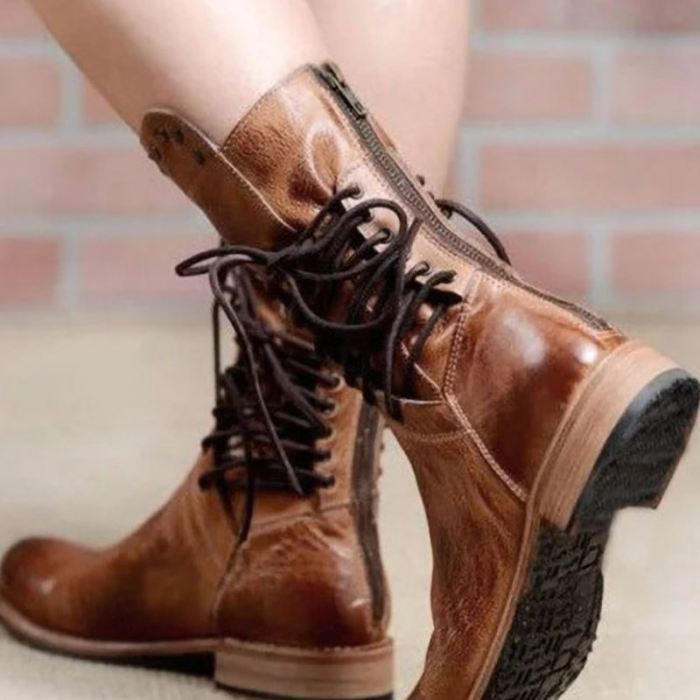 New Ankle Boots For Women Rivets Women'S Winter Warm Shoes Fashion Casual Ladies Long Boot Footwear Size