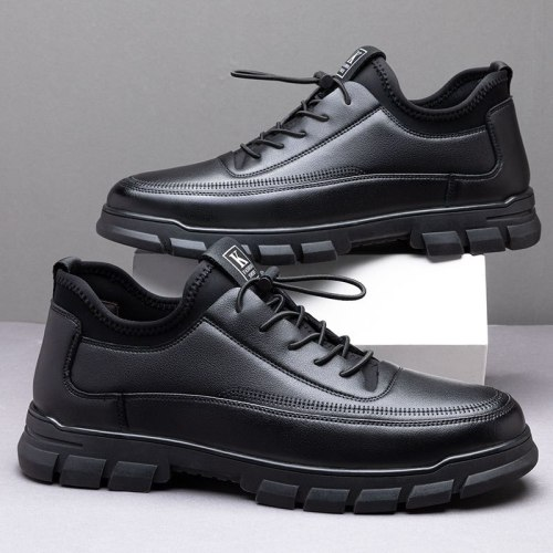 Man Shoes Leather Genuine Loafers Black Shoe Men Fashion Casual Shoes Man High Quality Oxford Masculino Wedding Shoes for Men