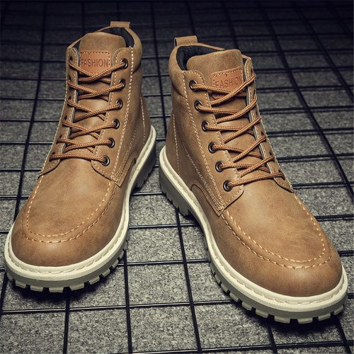 Men Boots Genuine Leather Chelsea Boots Autumn and Winter Classic Men's Boots Thick Fur Warm Men Shoes Male Big Size Shoe