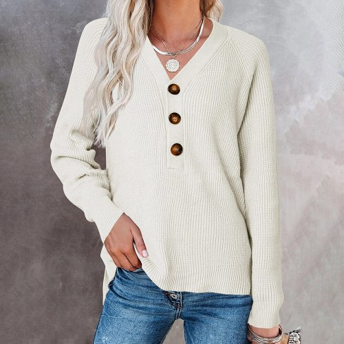 Spring Autumn Casual Knitted Sweater 2021 Long Sleeve Women Pullover Korean Style Winter Slim White Soft Fashion Knitwear Jumper