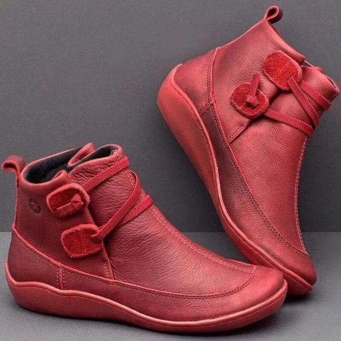 Fashion patent leather women boots Autumn and winter casual short Martin boots 2021 new one-foot flat women's shoes