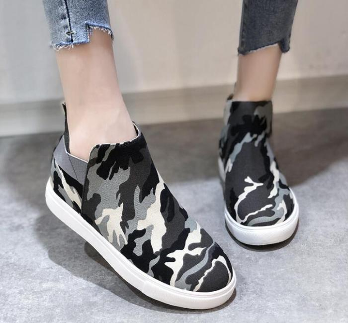 Women's Shoes 2021  Flats Shoes Women Elastic Band Casual Shoes