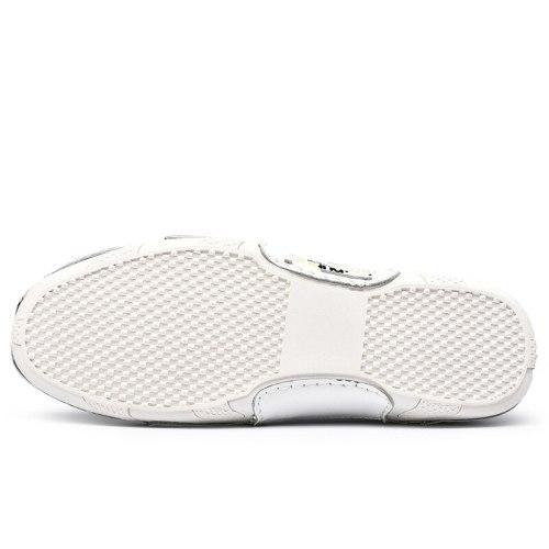 Handmade  Men Shoes Casual Lightweight Sneakers Men Slip on Loafers Luxury Brand Black Men's Driving Shoes