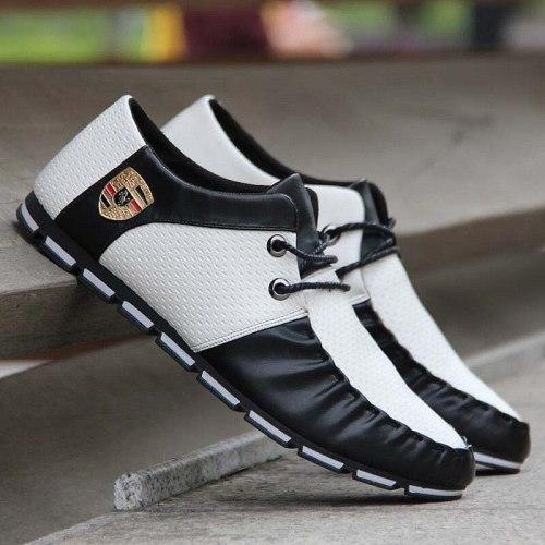 Men Casual Shoes Comfort Men Shoes Denim Male Shoes Adult Footwear 2020 New Men Loafers Canvas Shoes Men Sneakers Plus Size 44
