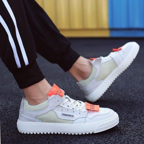 New Student Board Shoes Men Fashion Casual Canvas Shoes Men Tide Korean Low-cut Lace-Up Sneakers Men's Shoes Footwear