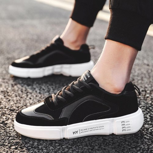 2021 New Wild Trend Student Men's Casual Shoes Breathable Flying Woven Comfortable Shoes Solid Color Fashion Men's Shoes