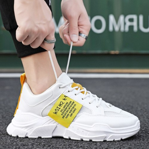 2021 Casual Shoes Men Lightweight Running Male Shoes Breathable Mesh Sport Men Sneakers Flat Outdoor Footwear