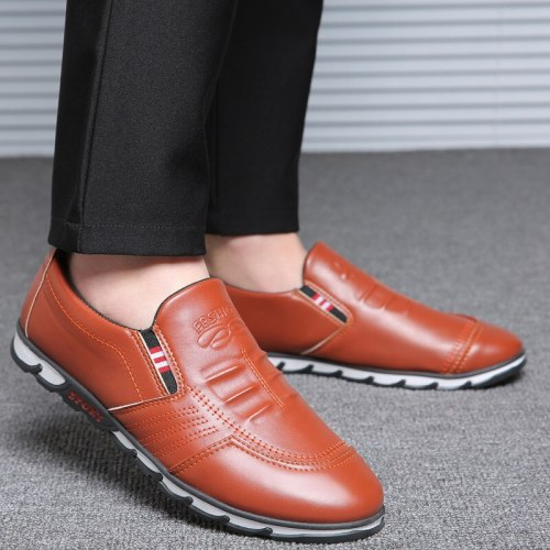 Spring Autumn New Wild England Mens Casual Shoes Men's Youth Waterproof Driving Soft Bottom Slip-On Men's Shoes Loafers