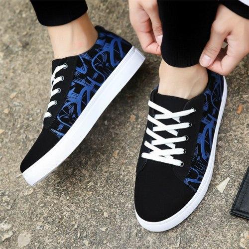 Men Shoes Fashion Sneakers Autumn Winter Man Flats Footwear for Man New Canvas Casual Shoes Zapatillas De Hombre