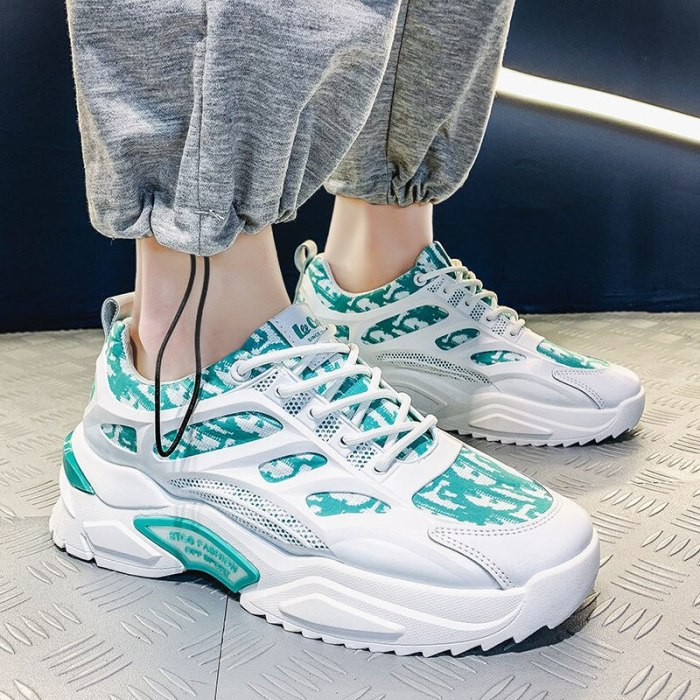 Men Shoes Sneakers Shoes Men's 2021 Summer New Sports Shoes Men's Fashion Soled Fashion Shoes