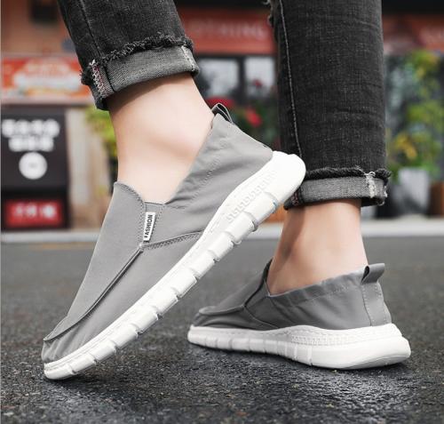Cloth shoes casual Korean canvas shoes lazy soft soled spring men's shoes versatile trend