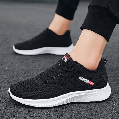 Men Sumer Running Shoes light Sport Gym Training Sneakers Breathable Anti-skid Outsole Walking Shoes