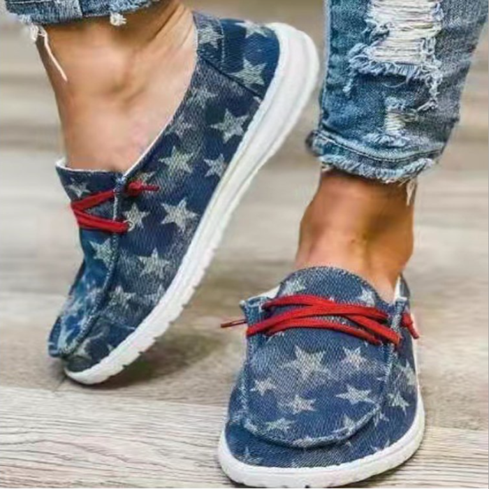 2021 New Women Leopard Loafers Shallow Flat Shoes Mixed Colors Lace Up Round Toe Ladies Outdoor Sports Wear Fashion Plus Size