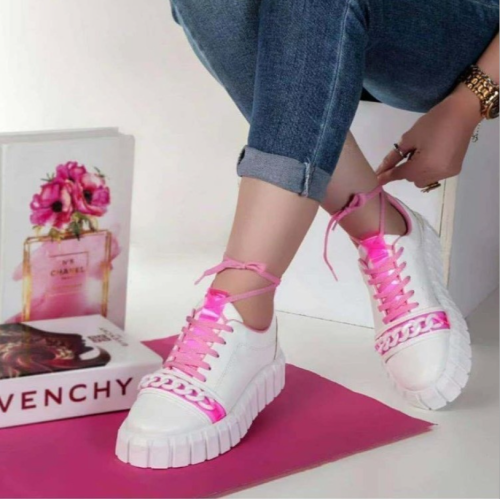 Woman's  Shoes Canvas Lace-Up Solid Casual Sneakers Thick Bottom Female Skateboard Fashion Plus Size Ladies Footwear