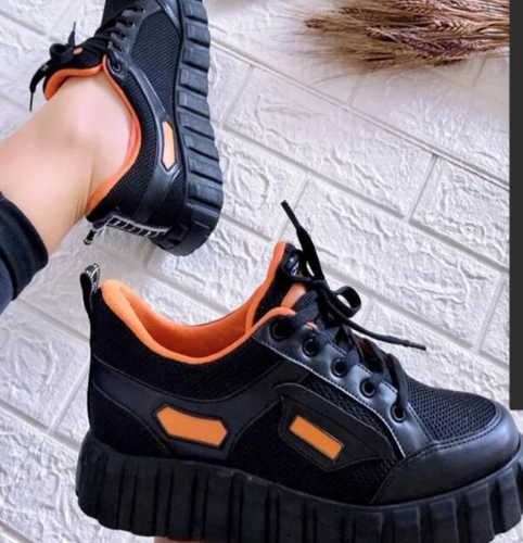 Brand New Comfy Walking Sneakers Casual Shoes Big Size 43 Shoelace Fashion Black Purple Leisure Woman Canvas Shoes Flats