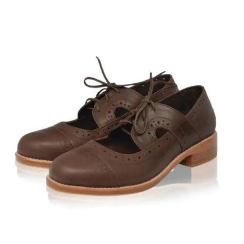 Ladies spring/fall 2021 plus-size women's shoes laser breathable retro women block heel sandals