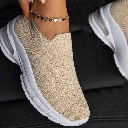 Woman Sneakers Casual Vulcanized Shoes Women's Breathable Flat Female Walking Mesh Anti-slip Sneakers Zapatillas Mujer 2021