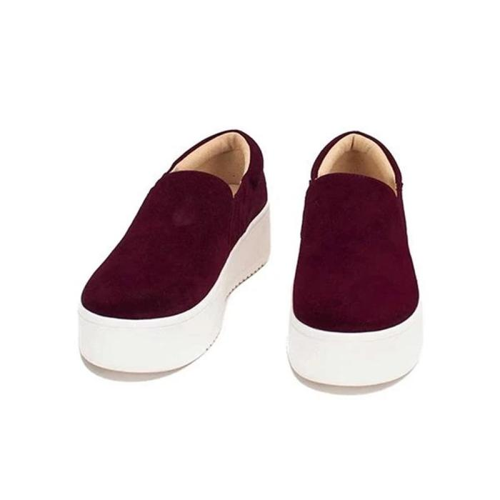 2021 casual shoes loafers spring and autumn flat loafers thick sole loafer casual women's shoes large size