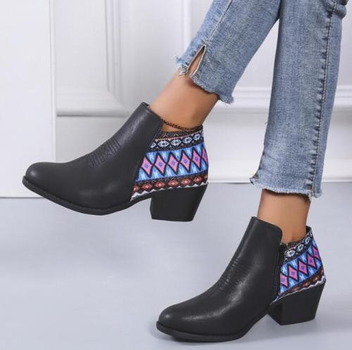 Women BootsBlack 's ie & K New Arrival Luxury Stylish Female Boots Platform Designer Comfortable Ladies Boots High Quality