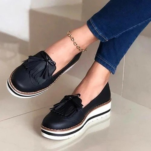Mixed Colors Ladies Ballet Flats Shoes Female Spring Moccasins Casual Ballerina Shoes Women Genuine Leather Loafers  2021